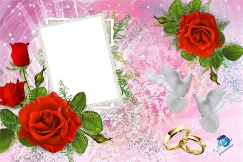Создай приглашение на свадьбу i